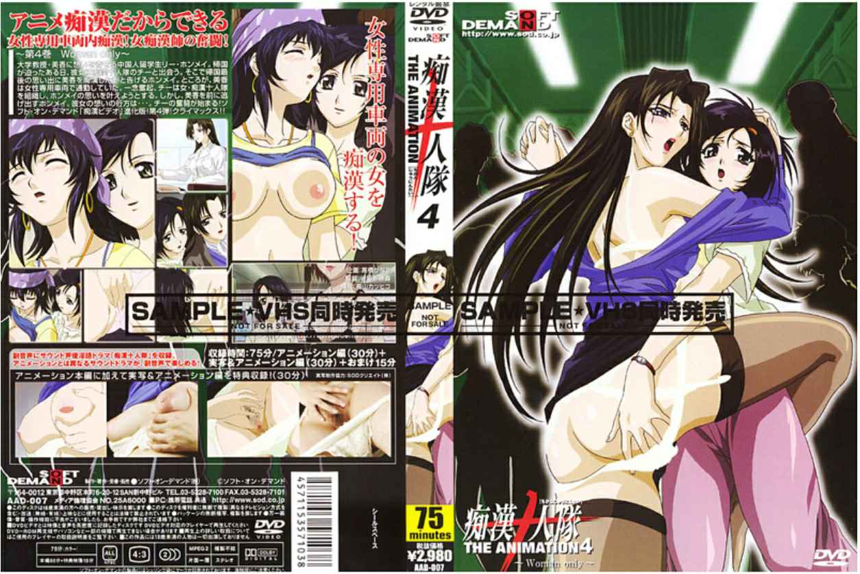 RAAD-007 痴漢十人隊 THE ANIMATION 4 ~Woman only~